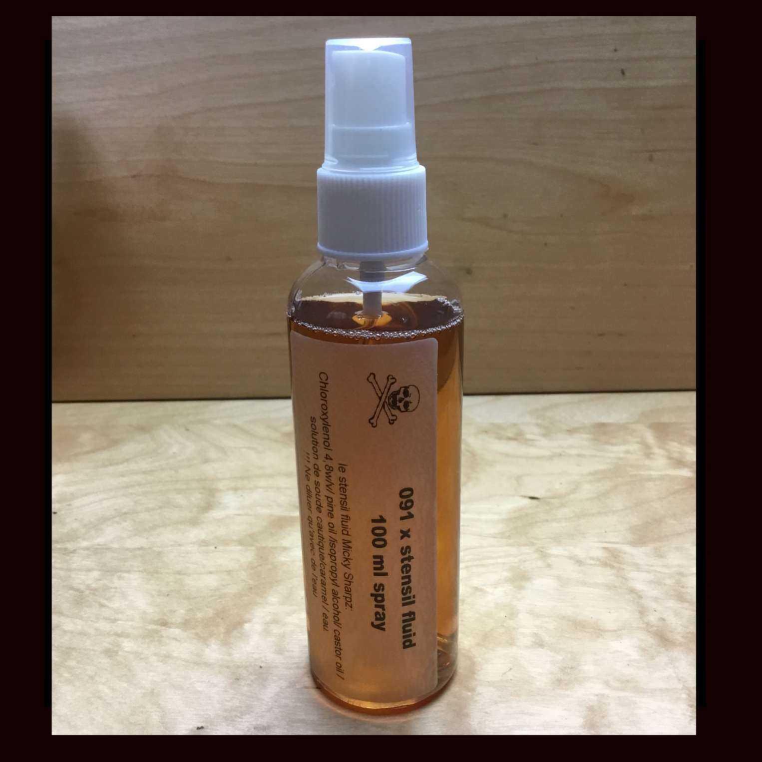Stencil Fluid spray 100ml