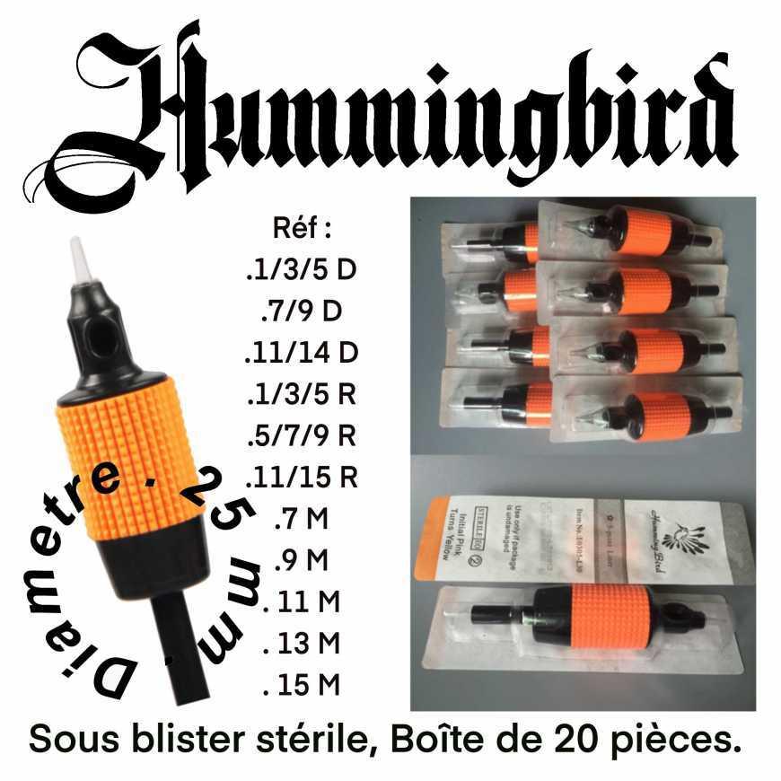 Tubes jetables « HUMMINGBIRD»